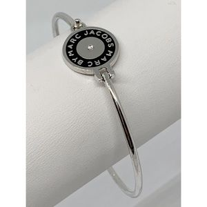 Marc by Marc Jacobs Silver Bangle Bracelet